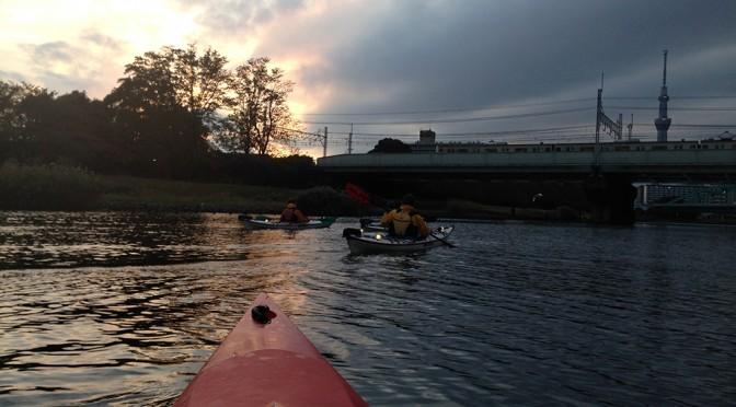 シーカヤックを体験してみよう@東京運河ナイトパドル10月31日開催